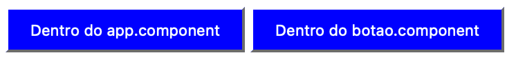 Dois botões com background azul